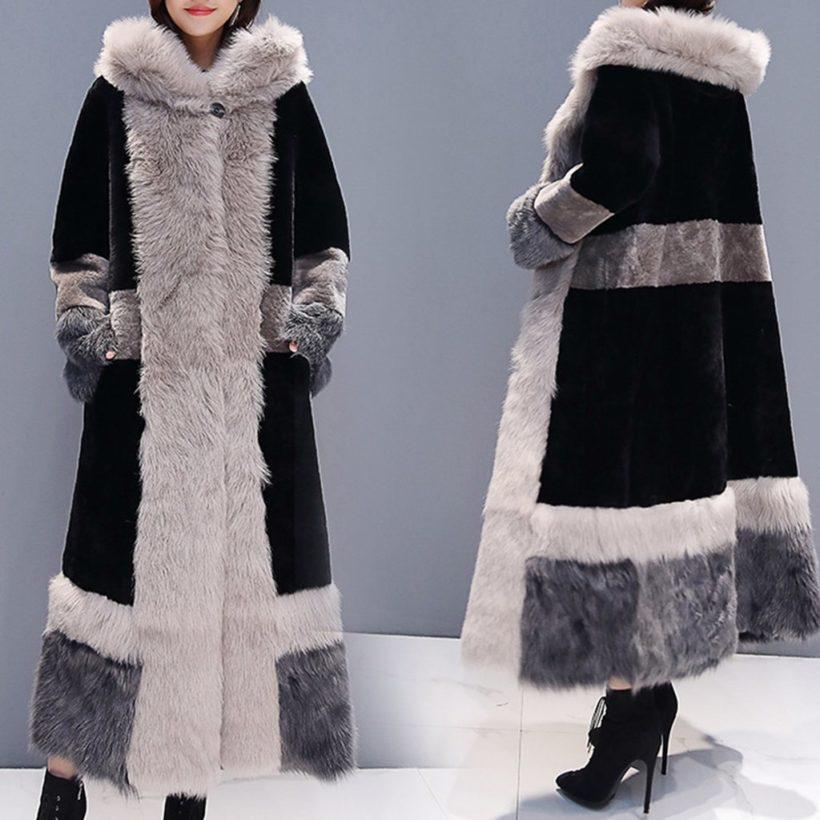 стилно палто